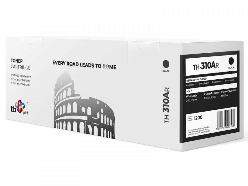TB Print Toner do HP CP 1025 B TH-310AR BK ref.