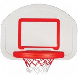 WOOPIE Koszykówka Klasyczna Wisząca Przenośna Pełnowymiarowa do Prawdziwej Piłki