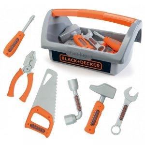 Smoby Skrzynka z narzędziami 6 akc. Black+Decker