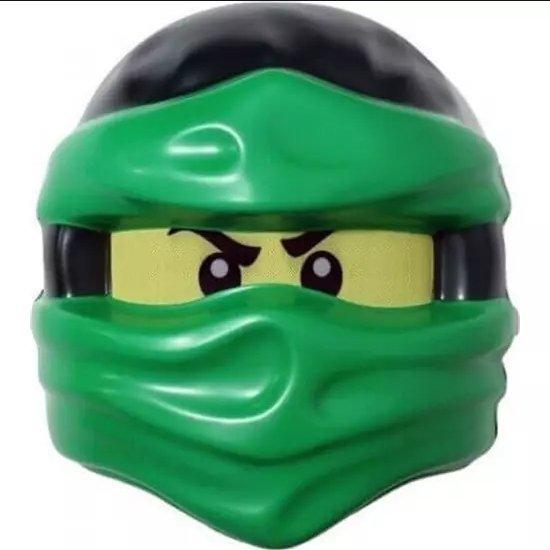 MASKA LLOYD LEGO NINJAGO ZIELONA