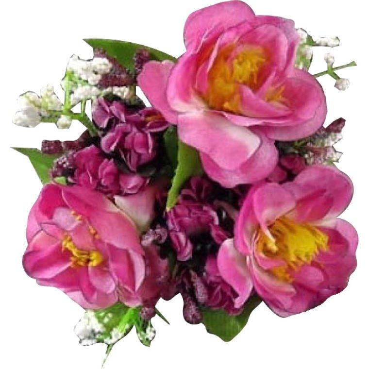 Stroik Ozdoba Świeczka Dekoracja Świece Kwiaty