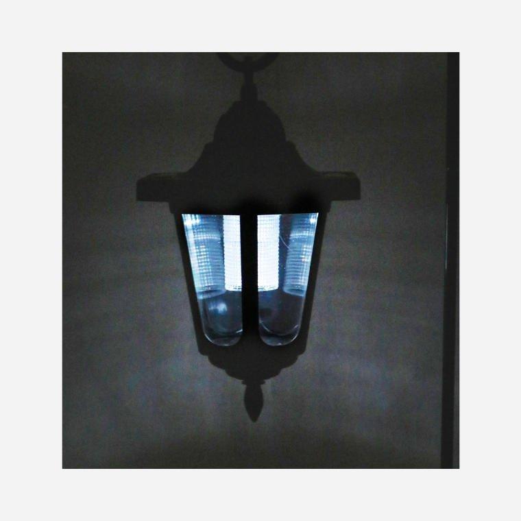 LAMPA SOLARNA WISZĄCA LAMPION ŚWIECZNIK LED OGRÓD