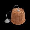 Żyrandol (Nowoczesny/28cm) - sklep z wiklina - zdjęcie
