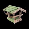 Karmnik dla ptaków (Brzoza/Kolor/Średni) - sklep z wiklina - zdjęcie