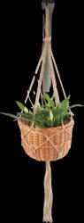 Kwietnik wiszący (boler/30cm) - sklep z wiklina - zdjęcie
