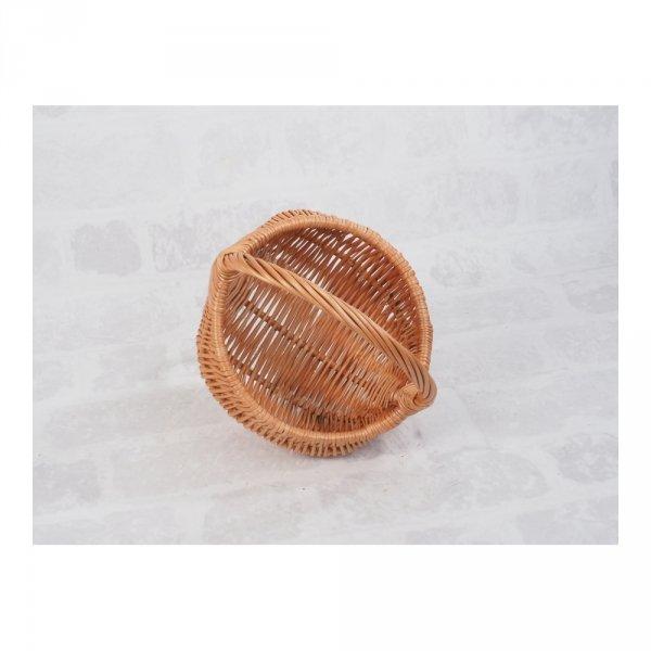 Koszyczek Wielkanocny (baniak/25cm) - sklep z wiklina - zdjęcie 2