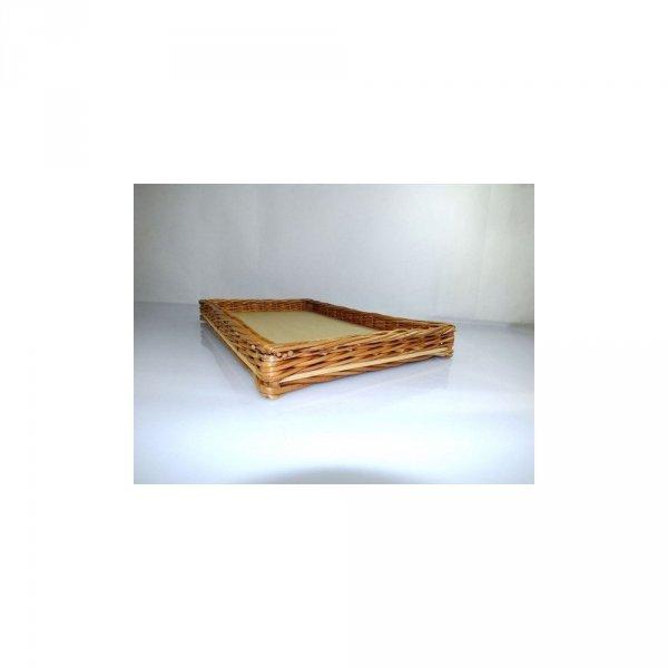 Skrzynka - niska (prostokątna na wymiar) - sklep z wiklina - zdjęcie