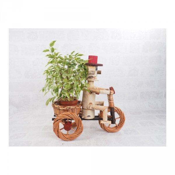 Osłonka na doniczkę - dekoracja (Chłopek/Duży) - sklep z wiklina - zdjęcie 2