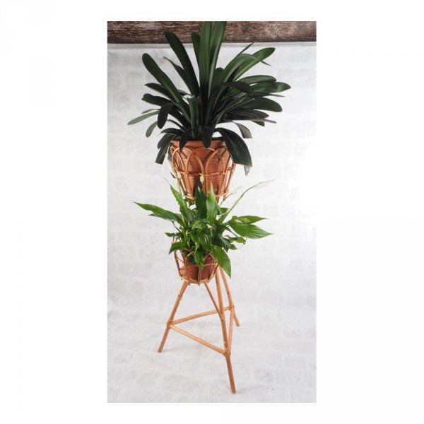 Stojak na kwiaty - kwietnik (ażur/2D) - sklep z wiklina - zdjęcie 1
