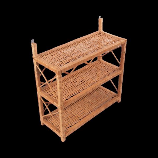 Wisząca półka (Naturalna/45cm) - sklep z wiklina - zdjęcie