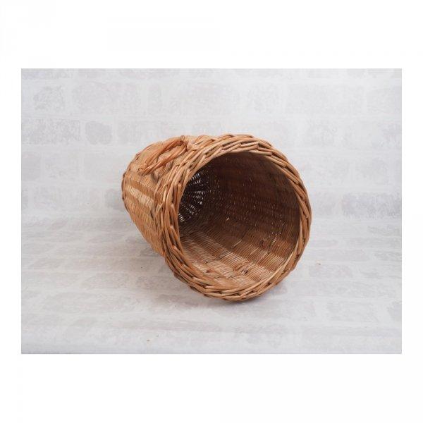Kosz na parasole (Duży/Pełnopleciony/Naturalny ) - sklep z wiklina - zdjęcie 2