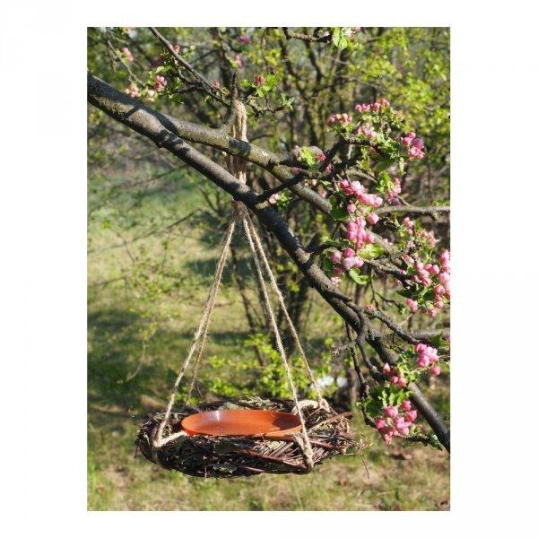 Ekologiczne poidełko dla ptaków - sklep z wiklina - zdjęcie 1