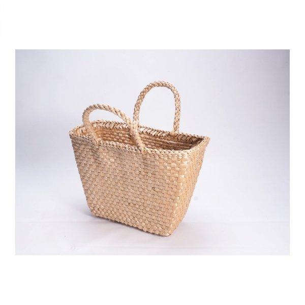 Kosz na zakupy - torba plażowa (Rafia/40cm) - sklep z wiklina - zdjęcie 3