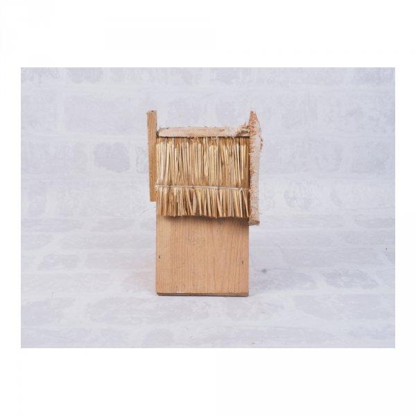Budka lęgowa dla ptaków (drewno/słoma) - sklep z wiklina - zdjęcie 3