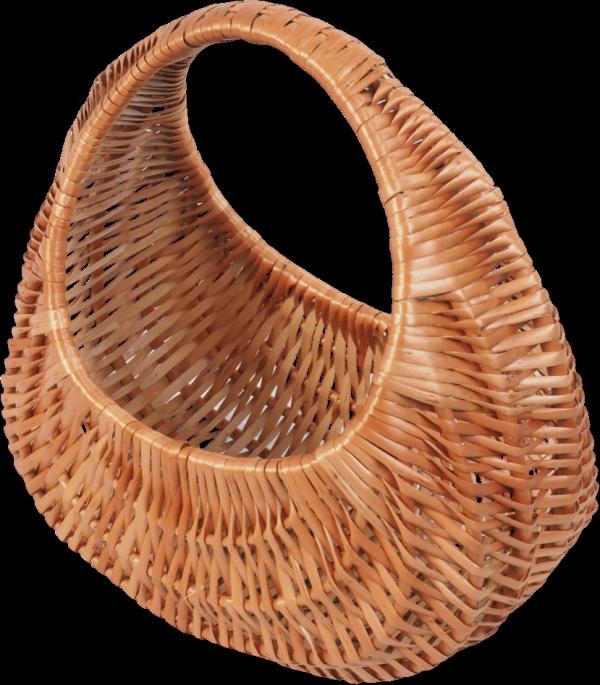 Kosz na zakupy (Ślimak/30cm) - sklep z wiklina - zdjęcie