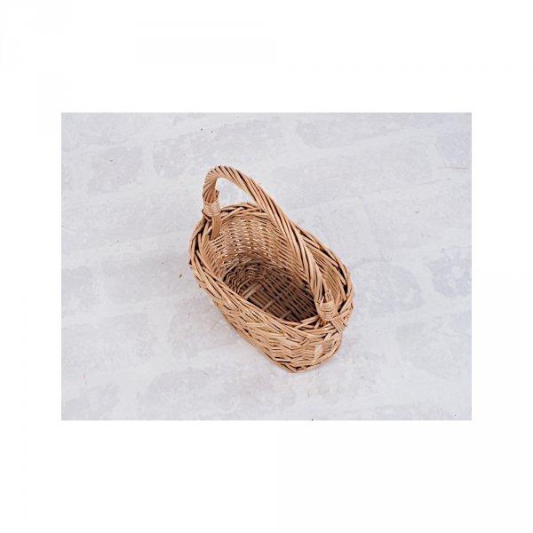 Koszyczek Wielkanocny Mini (Owalny) - Sklep z wiklina - zdjęcie 3