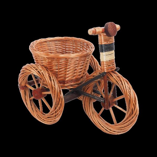 Osłonka na doniczke (Rower/Duży) - Sklep z wiklina - zdjęcie