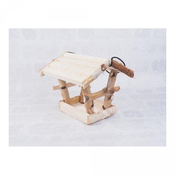 Karmnik dla ptaków (Brzoza/Kolor/Średni) - sklep z wiklina - zdjęcie 1