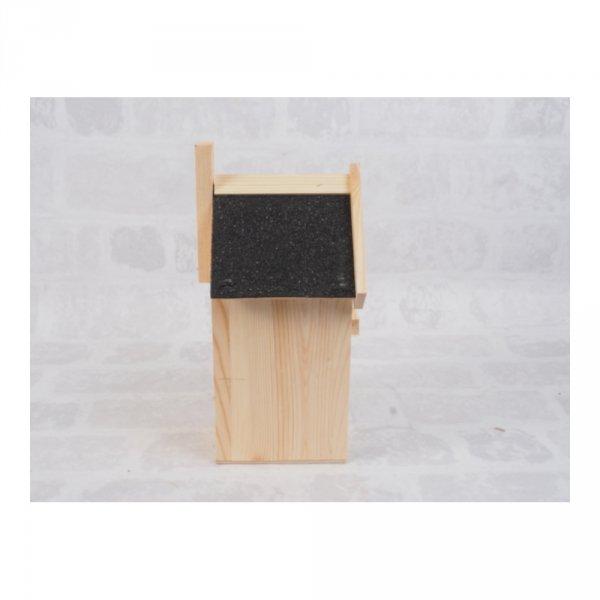 Budka lęgowa dla ptaków (Papa/czarna) - sklep z wiklina - zdjęcie 2