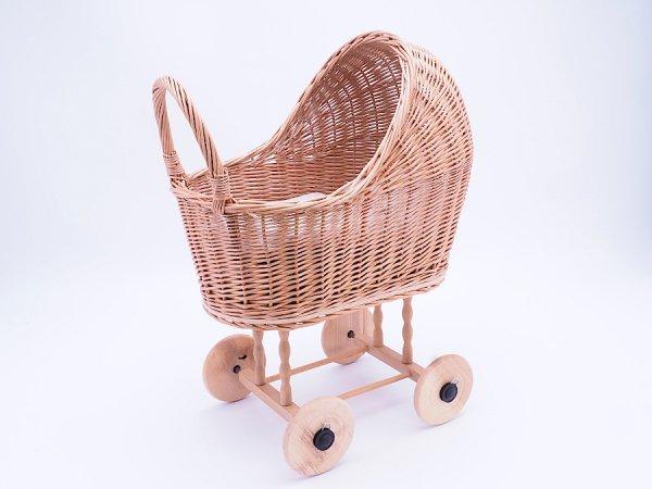 Wózek dla lalek (Klasyczny/50cm) - Sklep z wiklina - zdjęcie1