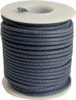 Kabel vintage niebieski solid core
