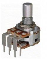 Alpha 2x100k/B liniowy stereo PCB-V