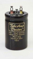 Gold Cap 32uF+32uF 500V TAD
