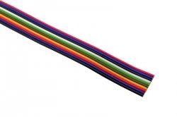 Kabel wielokolorowy, wstążkowy 12x0,22