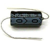 Kondensator 22uF 160V, osiowy
