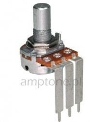 Alpha 100k/B liniowy PCB-V Long pins (6,3mm)