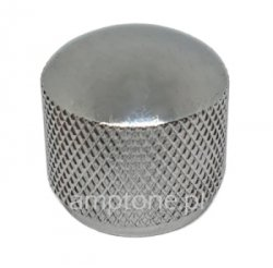 Gałka metalowa dome Silver 20x20