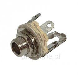 Gniazdo Jack 6,3mm mono JCK669 (12a)