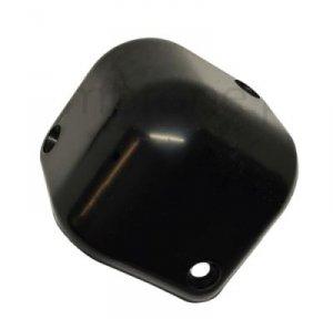 Narożnik czarny plastikowy, 3pol