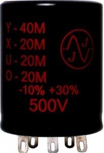 Kondensator 40+20+20+20uF 500V JJ