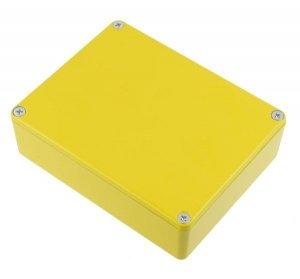 Obudowa Hammond 1590BB żółta