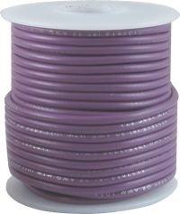 Kabel jednożyłowy Hook-up purpurowy 0,35mm2 drut