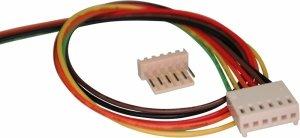 Konektor PCB 6pin, wtyk z kablem