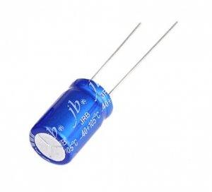 JB capacitor 10uF 35V JRB