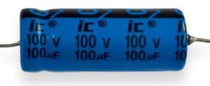 Kondensator 100uF 100V osiowy Illinois