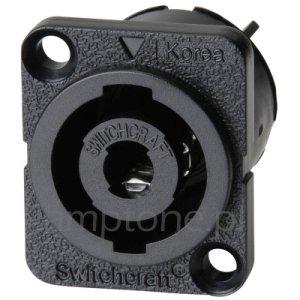 Gniazdo HPC Switchcraft 4p (speakon)