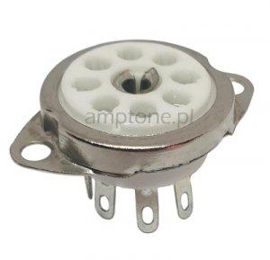 Podstawka 8pin rimlock B8A ceramiczna