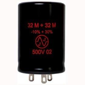 Kondensator 32uF+32uF 500V JJ