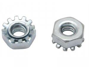 Nakrętka chassis strap + podkładka, 6-32