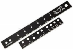 Faceplate Fender Princeton Reverb Blackface (front+tył)