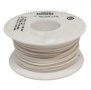 Kabel jednożyłowy Teflon 0,35mm2 biały