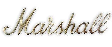"Logo Marshall 6"" Gold"