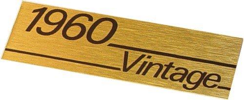 Marshall Vintage 1960 plate