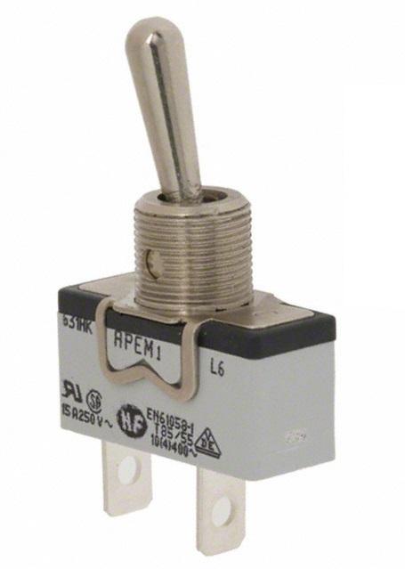 Przełącznik dźwigniowy Apem SPST