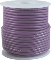 Kabel jednożyłowy Hook-up purpurowy 0,35mm2 solid