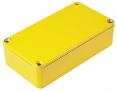 Obudowa 1590BYL Hammond Żółta